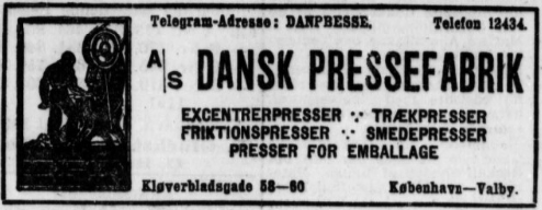 Den til Forsendelse med de Kongelige Brevposter privilegerede Berlingske Politiske og Avertissementstidende, 1-8-1919